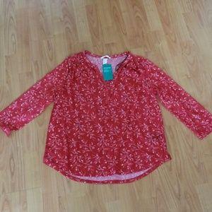 eco conscious blouse